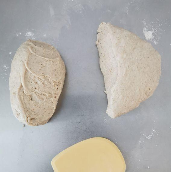 Fette biscottate con lievito di birra senza burro