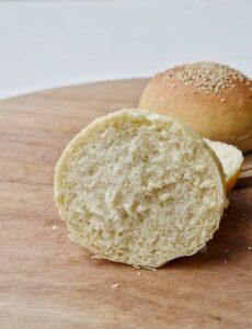 Panini per hamburger senza burro e senza uova burger buns
