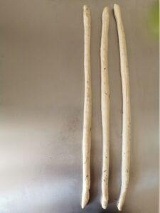 Pane a pasta dura delle Simili intrecciato a ghirlanda