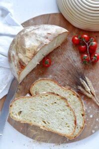 Pane pugliese impasto con biga ricetta delle Sorelle Simili