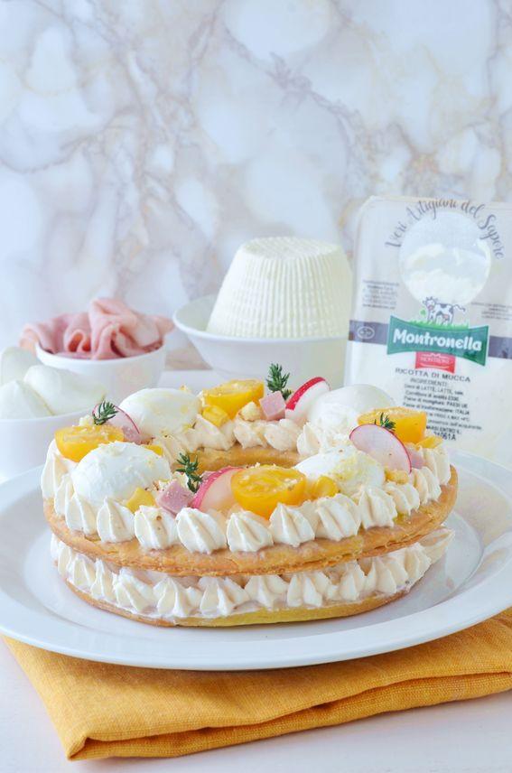 Cream Tart salata con ricotta e ovoline Caseificio Montrone